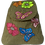 Thumbnail: Woven Fabric Butterflies and Flowers GLime