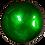 Thumbnail: Dark Green Lacquered Coconut Bowl