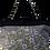 Thumbnail: Embroidered Fabric Handbag - Lilac/Black