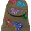 Thumbnail: Suedette Butterflies and Flowers Light Ginger