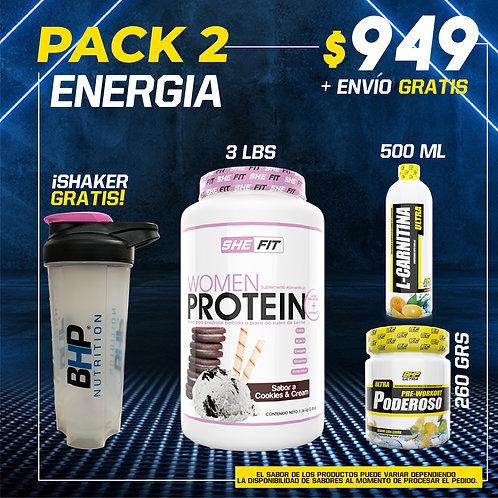 PACK 2 ENERGIA