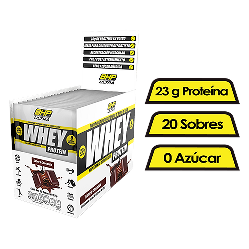 WHEY BOX  ULTRA 20 PACKS