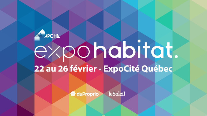 Café des Arts : Expo habitat Québec