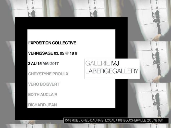 Un mois bien coloré : Exposition à la galerie d'Art des Deux-Ponts et à la galerie MJ Laberge