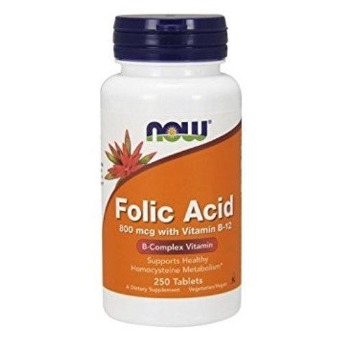 NOW Folic Acid (800mcg)