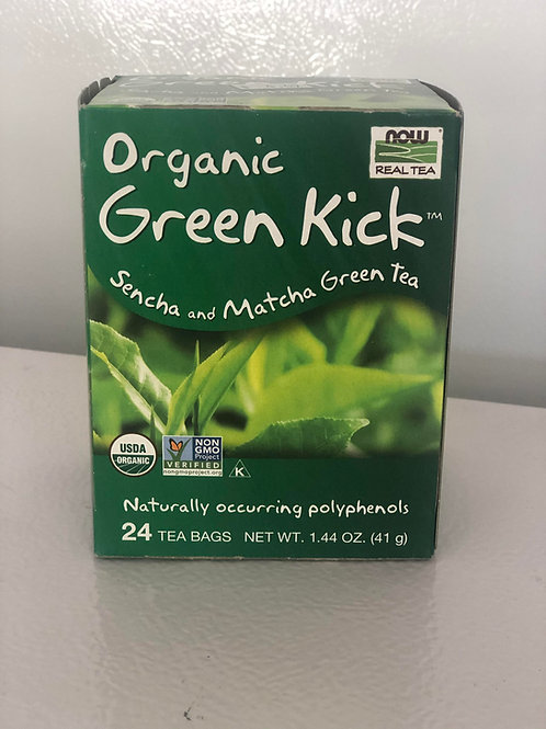 Organic Green Kick tea