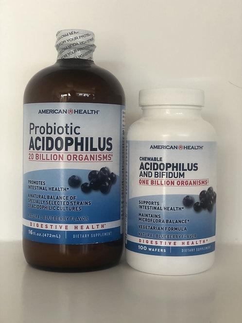 Acidophilus and Bifidum Probiotics