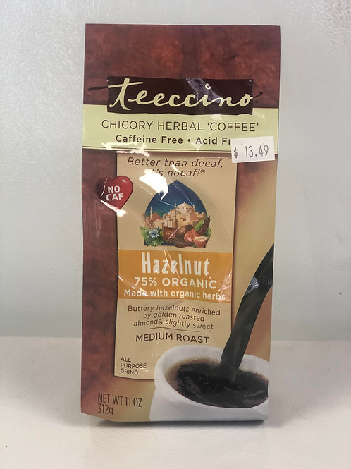 Chicory Hazelnut Herbal 'Coffee'- Caffeine Free