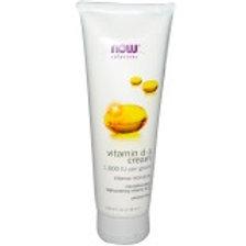 NOW Vitamin D-3 Cream