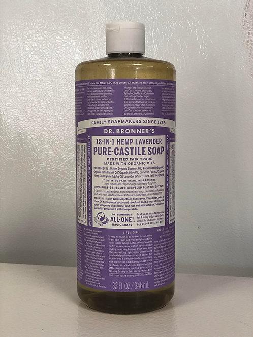 Dr. Bronner's Soap Lavender