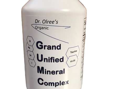 Grand Unified Mineral Complex, a DNA Supplement.