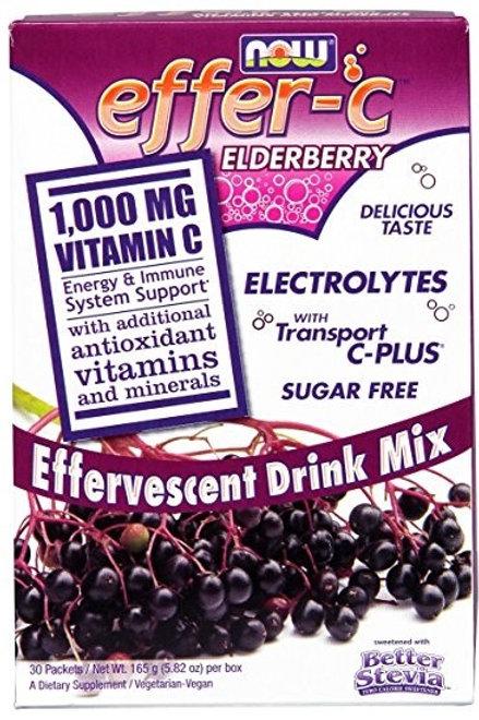 Effer-C Elderberry- 30 packets/box