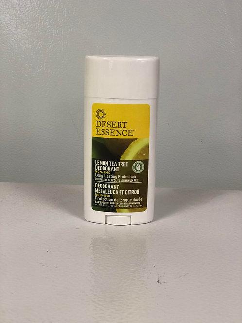 Lemon Tea Tree Deodorant