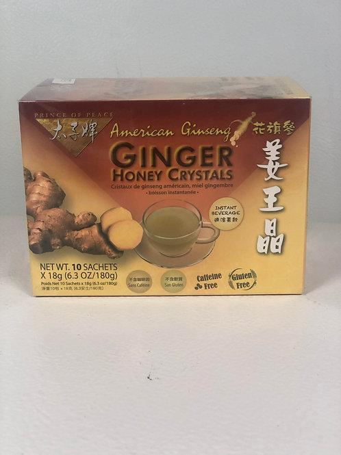 Ginseng Ginger Honey Crystal Tea