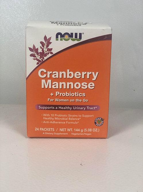 Cranberry Mannose + Probiotics