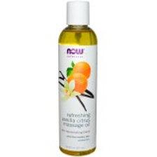 NOW Refeshing Vanilla Citrus Massage Oil
