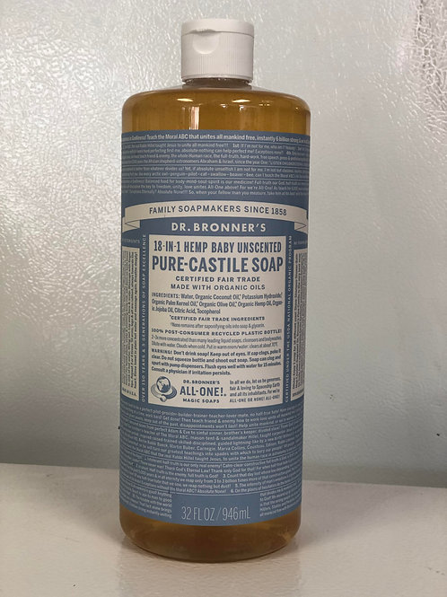 Dr. Bronner's Soap Baby Scent