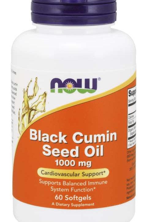 Supplements Black Cumin Seed Oil