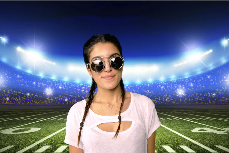 Green Screen Football
