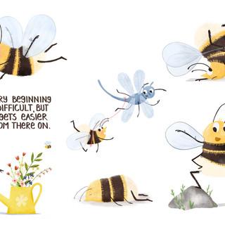 Bumblebee chracter design
