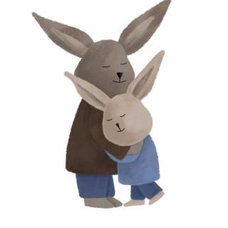 Rabbit hug