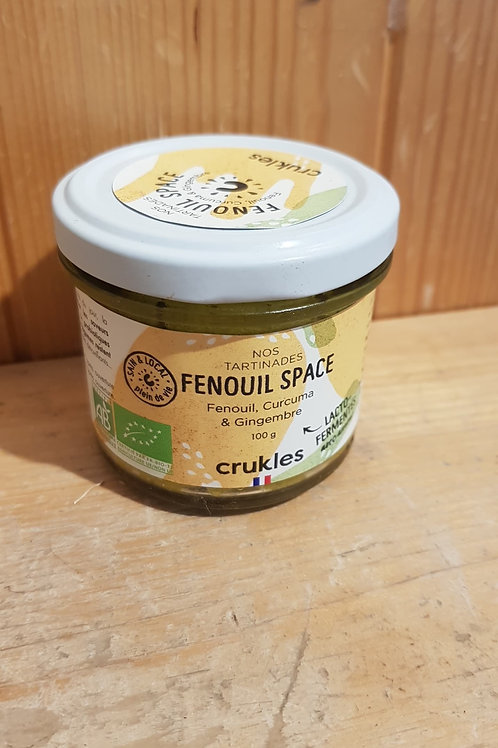 """Tartinable lactofermenté """"Fenouil Space"""" - 100g"""