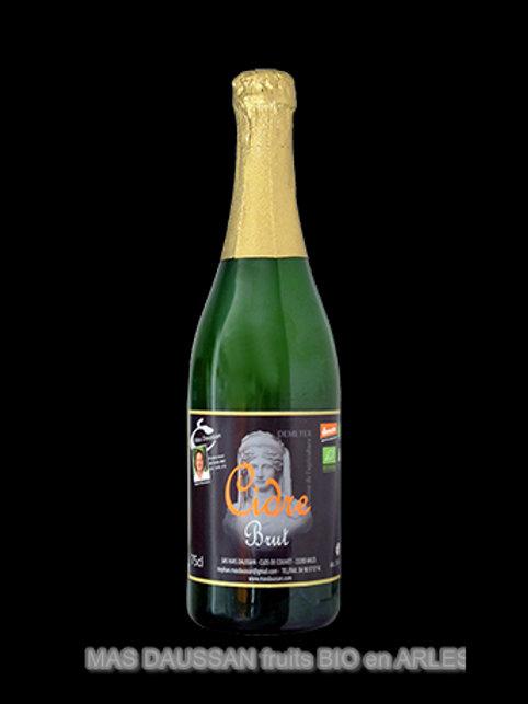 Cidre brut demeter - 75cl