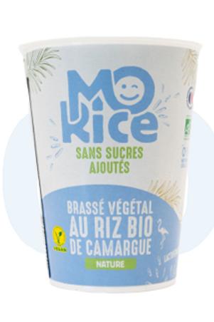 Mo'mage blanc au riz de Camargue - 375g