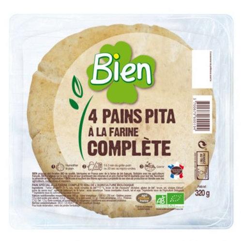 Pains Pita complets - 4 pièces