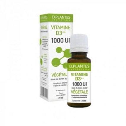 Vitamine D3 1000 UI- Vegan - 30ml