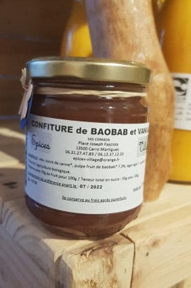Confiture Baobab vanille - 230g