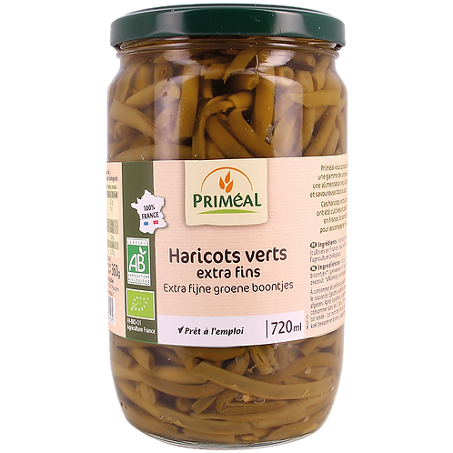 Haricots verts cuits - 660g