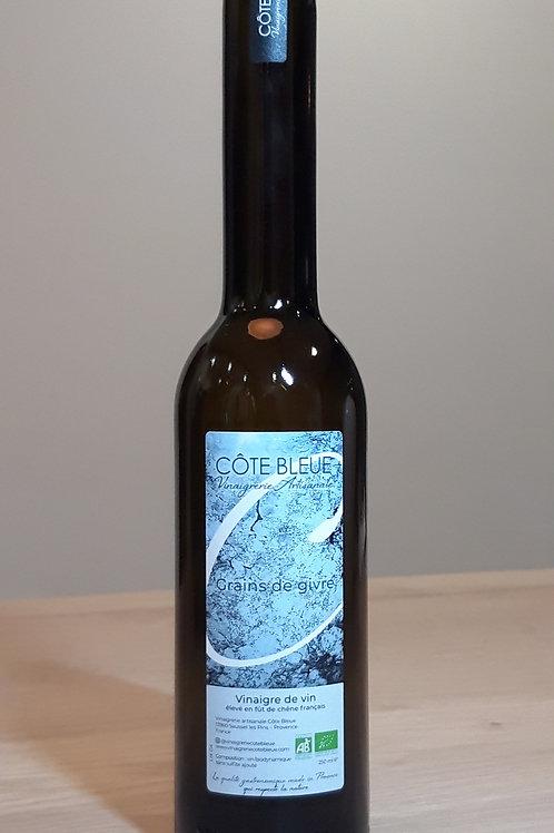 "Vinaigre de vin blanc ""grain de givre"" - 250ml"