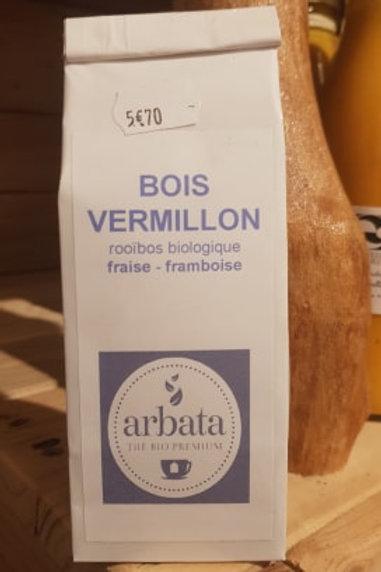 Thé rouge - Bois vermillon - 50g