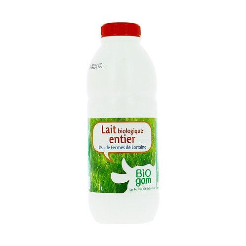 Lait de vache entier x 6L