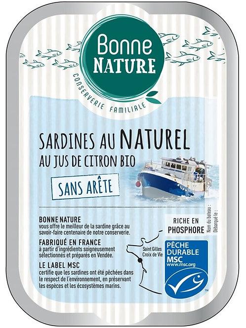 Sardine au naturel - 115g