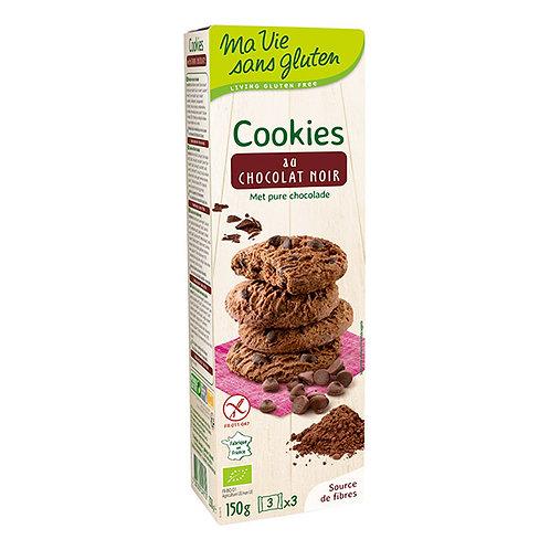 Cookies chocolat noir - 150g