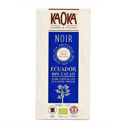 Tablette Chocolat noir - 80% cacao