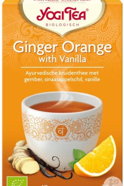 Tisane Gingembre orange et vanille