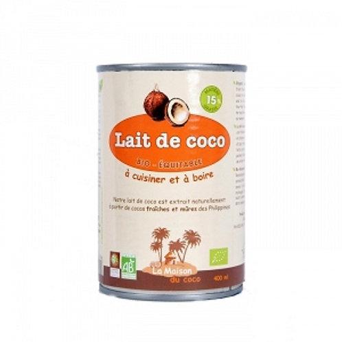 Lait de coco - 400ml