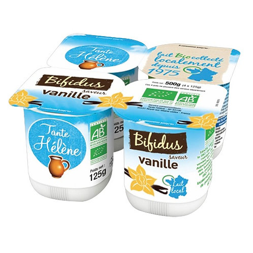Bifidus vanille - 4x125g