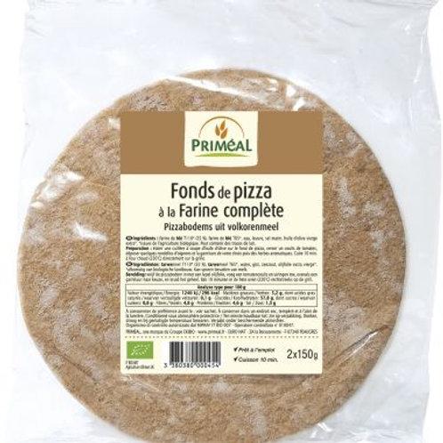 Fond de pizza - 2x150g - DLC 20/01/2021