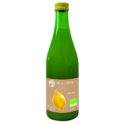 Jus de citron - 50cl