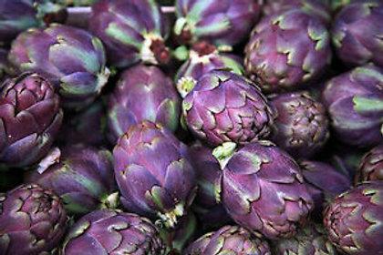 Artichaut violet  - 1 pièce -France