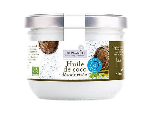 Huile de coco vierge extra désodorisée - 400ml