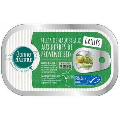 Maquereaux herbes de Provence - 100g