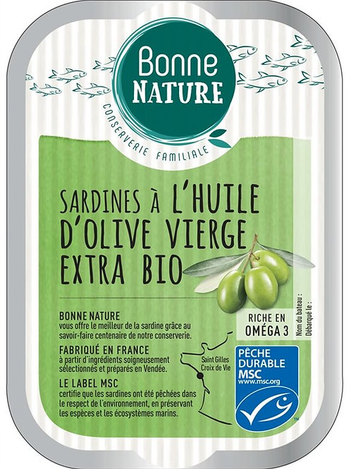 Sardine à l'huile d'olive - 115g