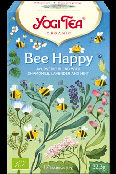 """Yogi tea """"Bee Happy"""" - Soutiens aux abeilles sauvages - 17 sachets"""
