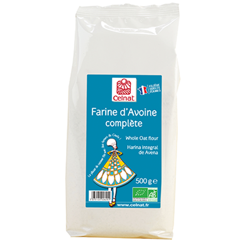 Farine d'avoine complète - 500g