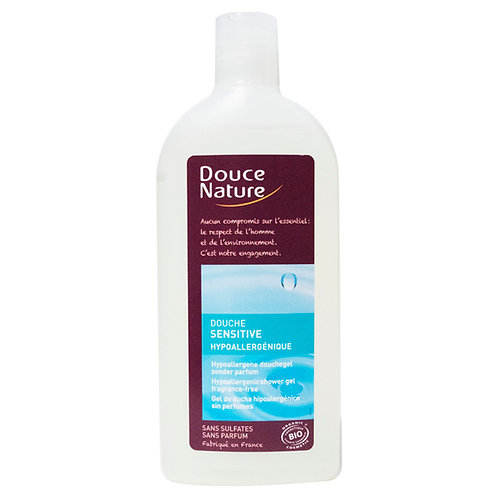 Gel douche ''Sensitive'' - Hypoallergénique - 1L